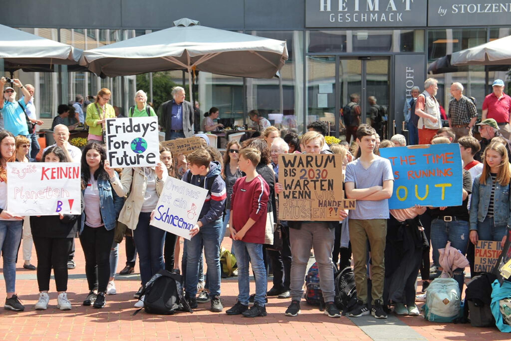 Fridays for future Demo Lünen