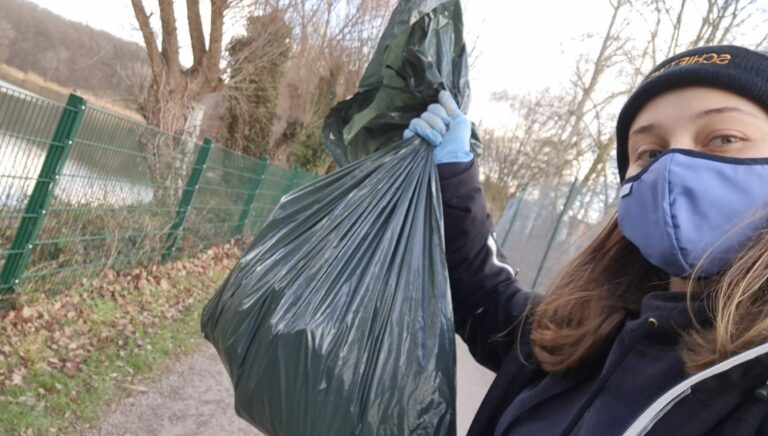 Müllsammelaktion Fridays for Future Lünen